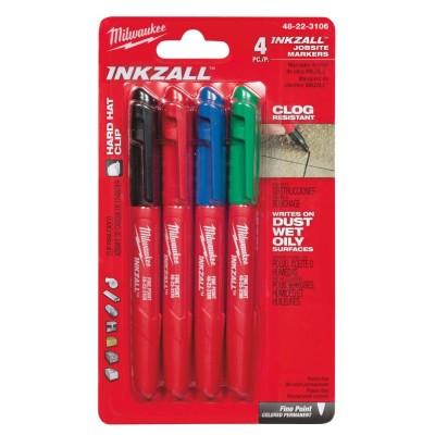 Set markere colorate cu varf fin