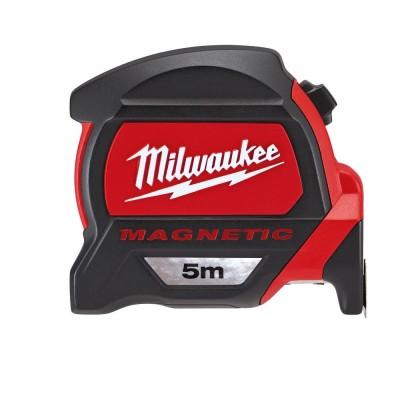 Ruleta magnetica premium 5m/27mm Milwaukee