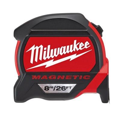 Ruleta magnetica premium 8M/26FT - 27mm Milwaukee